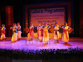 Cultural program held in honour of NERCPA at Nazrul Kalakshetra. TIWN Pic May 31